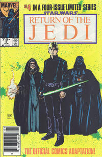 Cover for Star Wars: Return of the Jedi (Marvel, 1983 series) #4