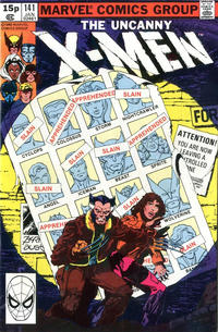 Cover Thumbnail for The X-Men (Marvel, 1963 series) #141 [British]
