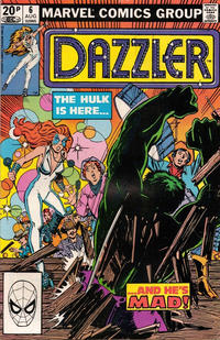 Cover Thumbnail for Dazzler (Marvel, 1981 series) #6 [British]