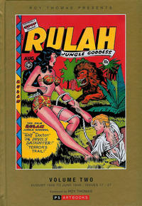 Cover Thumbnail for Roy Thomas Presents Rulah - Jungle Goddess (PS, 2015 series) #2