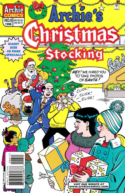 Cover for Archie's Christmas Stocking (Archie, 1993 series) #6
