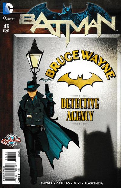 Cover for Batman (DC, 2011 series) #43 [La Mole Comic Con Internacional Cover]