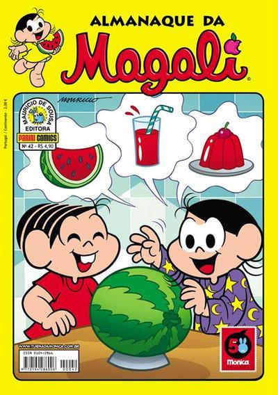 Cover for Almanaque da Magali (Panini Brasil, 2007 series) #42