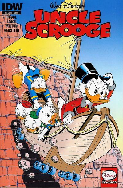 Cover for Uncle Scrooge (IDW, 2015 series) #5 / 409 [Retailer Incentive Cover Variant]