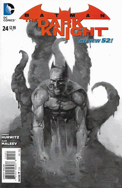 Cover for Batman: The Dark Knight (DC, 2011 series) #24