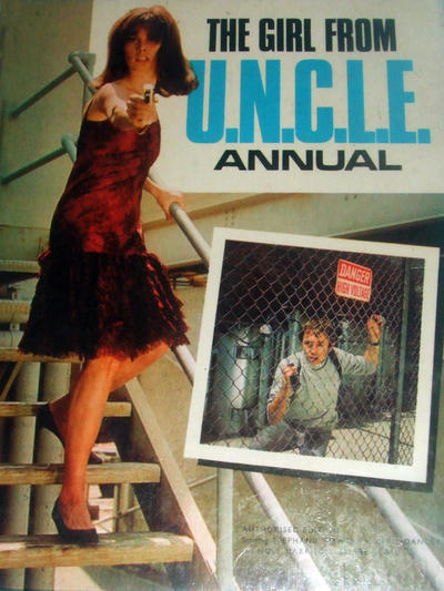 Cover for The Girl from U.N.C.L.E. Annual (World Distributors, 1968 series) #1968