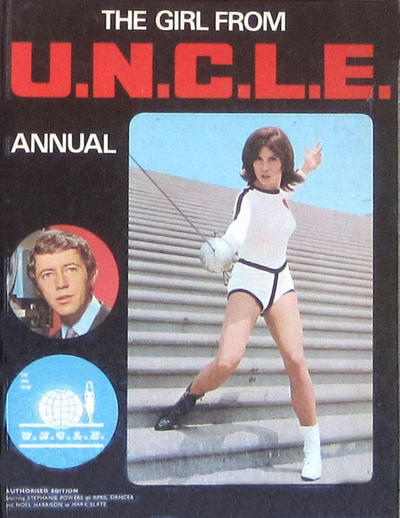 Cover for The Girl from U.N.C.L.E. Annual (World Distributors, 1968 series) #1970
