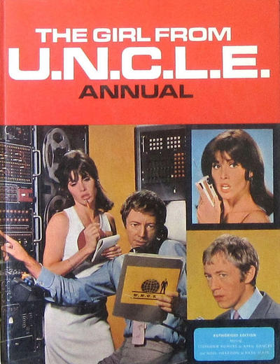 Cover for The Girl from U.N.C.L.E. Annual (World Distributors, 1968 series) #1969