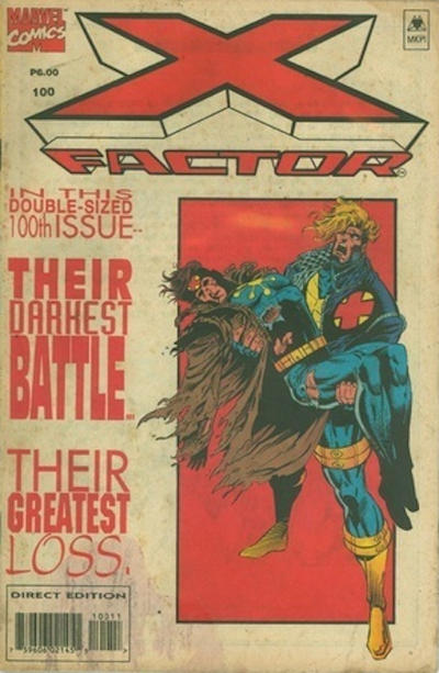 Cover for X-Factor (Marvel, 1986 series) #100 [Standard Cover]