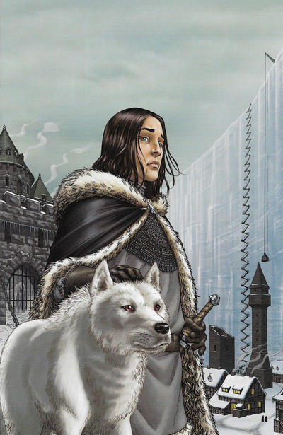 Cover for George R. R. Martin's A Game of Thrones (Dynamite Entertainment, 2011 series) #4