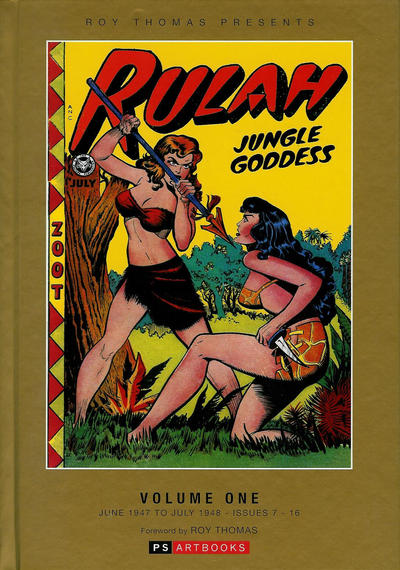 Cover for Roy Thomas Presents Rulah - Jungle Goddess (PS, 2015 series) #1
