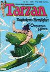 Cover for Tarzan (Atlantic Förlags AB, 1977 series) #21/1979