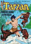 Cover for Tarzan (Atlantic Förlags AB, 1977 series) #22/1979