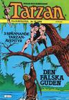 Cover for Tarzan (Atlantic Förlags AB, 1977 series) #10/1986