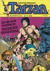 Cover for Tarzan (Atlantic Förlags AB, 1977 series) #12/1986