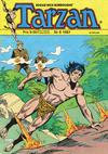 Cover for Tarzan (Atlantic Förlags AB, 1977 series) #6/1987