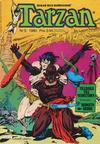 Cover for Tarzan (Atlantic Förlags AB, 1977 series) #5/1980