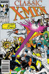Cover for Classic X-Men (Marvel, 1986 series) #8 [Newsstand Edition]