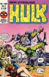 Cover for Hulk (Semic, 1984 series) #1/1985