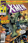Cover Thumbnail for The Uncanny X-Men (1981 series) #347 [Newsstand]