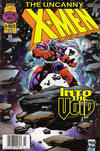 Cover for The Uncanny X-Men (Marvel, 1981 series) #342 [Newsstand]