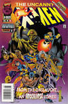Cover for The Uncanny X-Men (Marvel, 1981 series) #335 [Newsstand]
