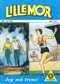 Cover Thumbnail for Lillemor (Serieforlaget / Se-Bladene / Stabenfeldt, 1969 series) #24/1990