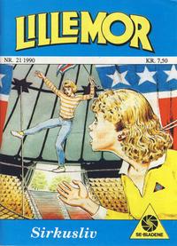 Cover Thumbnail for Lillemor (Serieforlaget / Se-Bladene / Stabenfeldt, 1969 series) #21/1990