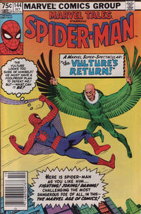 Cover Thumbnail for Marvel Tales (Marvel, 1966 series) #144 [Canadian]