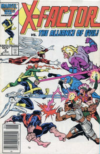 Cover for X-Factor (Marvel, 1986 series) #5 [Direct Edition]