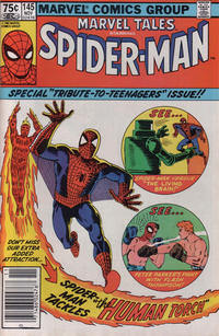 Cover Thumbnail for Marvel Tales (Marvel, 1966 series) #145 [Canadian]