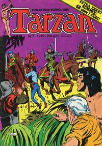 Cover Thumbnail for Tarzan (Atlantic Förlags AB, 1977 series) #7/1979