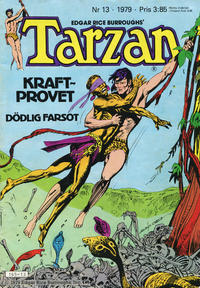 Cover Thumbnail for Tarzan (Atlantic Förlags AB, 1977 series) #13/1979