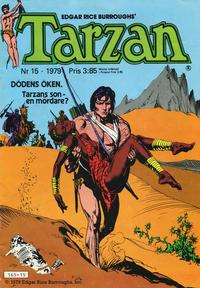 Cover Thumbnail for Tarzan (Atlantic Förlags AB, 1977 series) #15/1979