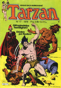Cover Thumbnail for Tarzan (Atlantic Förlags AB, 1977 series) #17/1979