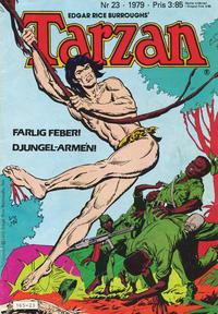Cover Thumbnail for Tarzan (Atlantic Förlags AB, 1977 series) #23/1979
