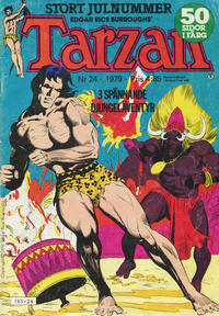 Cover Thumbnail for Tarzan (Atlantic Förlags AB, 1977 series) #24/1979