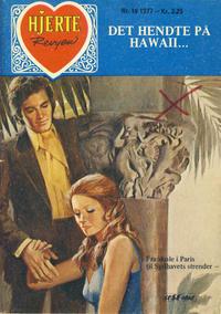 Cover Thumbnail for Hjerterevyen (Serieforlaget / Se-Bladene / Stabenfeldt, 1960 series) #19/1977