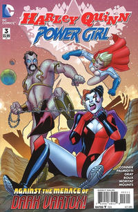 Cover Thumbnail for Harley Quinn and Power Girl (DC, 2015 series) #3