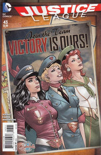 Cover Thumbnail for Justice League (DC, 2011 series) #43 [Bombshells Cover]