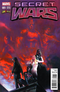 Cover Thumbnail for Secret Wars (Marvel, 2015 series) #1 [ComicXposure Exclusive Variant  - Gabriele Dell'Otto]
