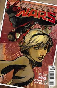 Cover Thumbnail for Secret Wars (Marvel, 2015 series) #1 [Newbury Comics Exclusive Alex Maleev Variant]