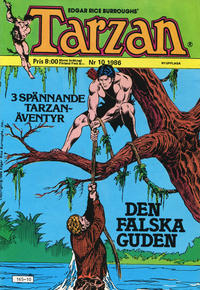 Cover Thumbnail for Tarzan (Atlantic Förlags AB, 1977 series) #10/1986