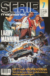 Cover Thumbnail for Seriemagasinet (Semic, 1970 series) #7/1987