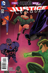 Cover Thumbnail for Justice League (DC, 2011 series) #42 [Joe Quinones Cover Variant]