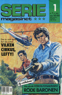 Cover Thumbnail for Seriemagasinet (Semic, 1970 series) #1/1989