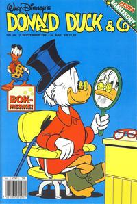 Cover Thumbnail for Donald Duck & Co (Hjemmet / Egmont, 1948 series) #38/1991