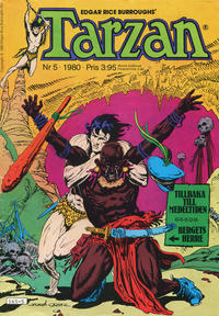 Cover Thumbnail for Tarzan (Atlantic Förlags AB, 1977 series) #5/1980