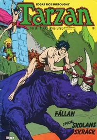 Cover Thumbnail for Tarzan (Atlantic Förlags AB, 1977 series) #9/1980