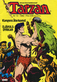 Cover Thumbnail for Tarzan (Atlantic Förlags AB, 1977 series) #12/1980